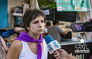 """Denuncian agresión a una militante de """"MÁS MADRID-LEGANEMOS"""""""