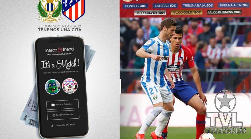 C.D Leganés VS Atletico de Madrid. Este domingo 25 de agosto en el Butarque.