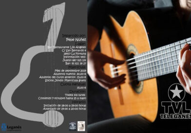 Curso de guitarra por la asociación cultural Flamenca Jondo