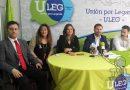 ULEG se define como el único partido progresista tras el pacto PSOE CIUDADANOS