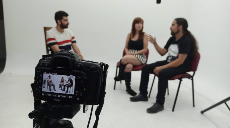 Entrevistas a Elías y Paula: Hacer una película no es tan fácil como todo el mundo piensa