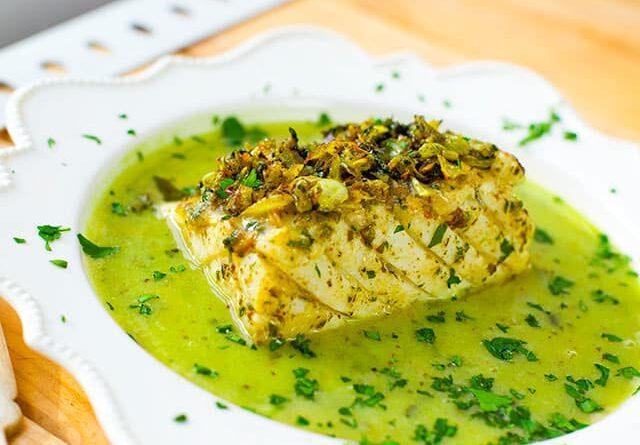 Receta de la Semana: Bacalao en salsa verde fácil.