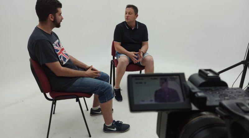 Entrevista a Arturo González, el presidente de la Federación de Peñas del Club Deportivo Leganés