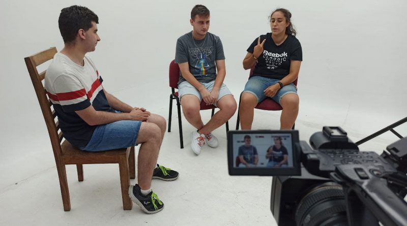 Entrevista a Sergio y Nuria del Club de fútbol americano Leganés Monsters