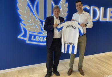 El C.D. Leganés renueva con Eneryeti como patrocinador oficial