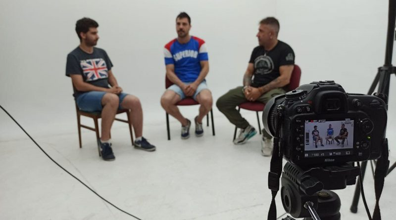 """Entrevista a los boxeadores: Iván Martinez """"El Fénix"""" y Jerónimo Merino."""