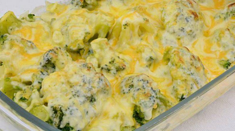 Receta de la semana: Brócoli gratinado con bechamel y queso