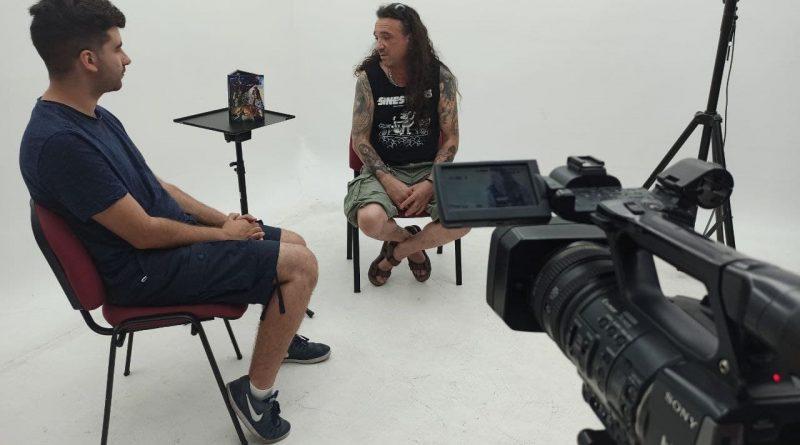 "Entrevista a Alejandro Penedo, ""Alex"" del grupo de rock SINESTRESS."