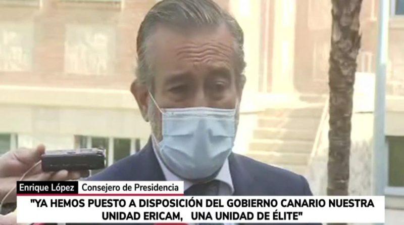Comunidad de Madrid ofrece ayuda de emergencia a La Palma