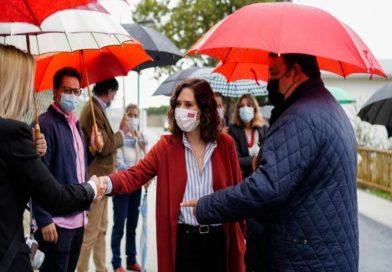 Díaz Ayuso reafirma su compromiso con todos los municipios de la región